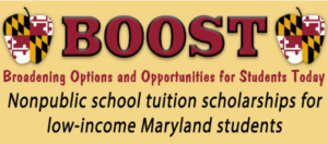 Maryland BOOST Tuition Scholarship Program moves into next phase