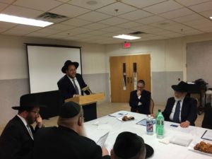Rabbi Avi Schnall, Agudath Israel's New Jersey Office
