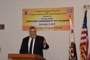 Dr. Irving Lebovics, Chairman Presidium, Agudath Israel of California