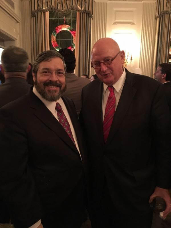 Rabbi Abba Cohen with US Special Envoy to Monitor and Combat Anti-Semitism Ira Forman