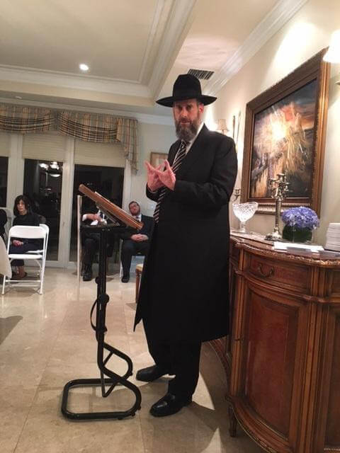 Rabbi Yosef Viener, Rav, Shaar Hashomayim in Monsey