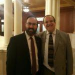 Rabbi Sadwin with PA State Senator Dinniman